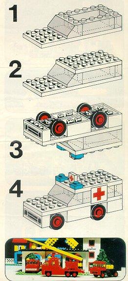 lego city ambulance helicopter instructions