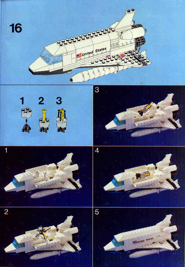 lego space shuttle transport instructions - photo #9