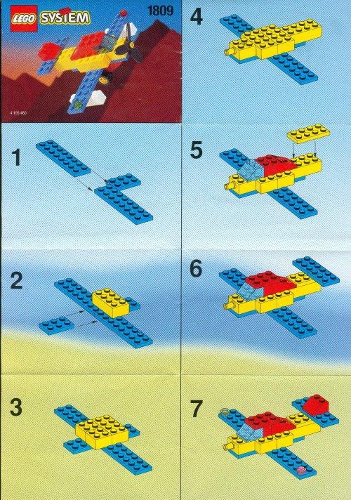 lego city aeroplane instructions
