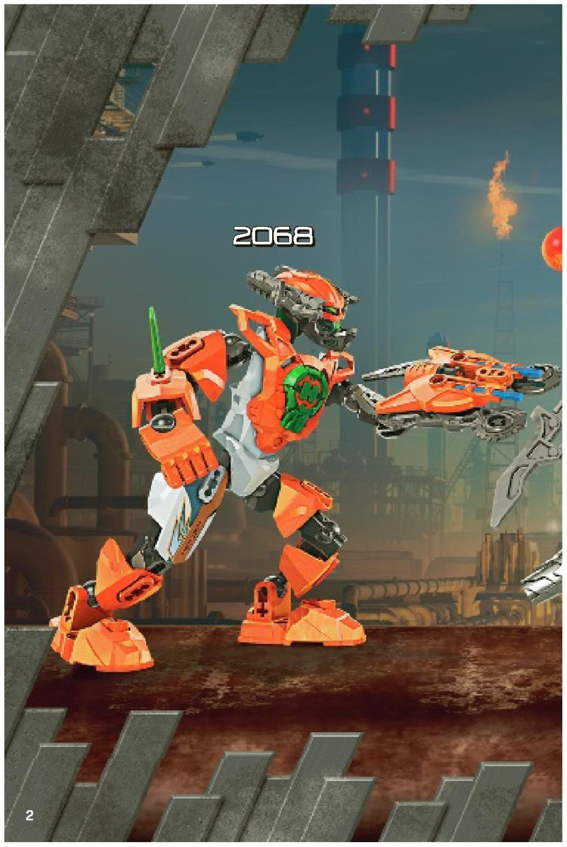 hero factory drilldozer instructions
