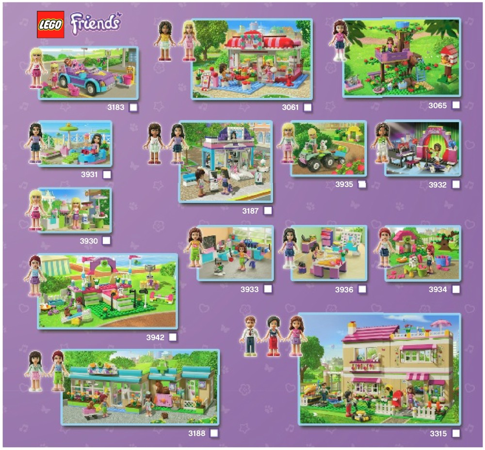 lego friends cafe instructions