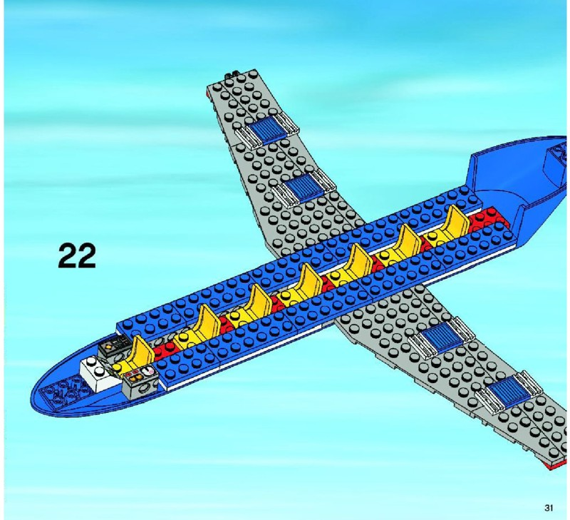 Lego Airplane Set 7893 Instructions The Best And Latest Aircraft 2018