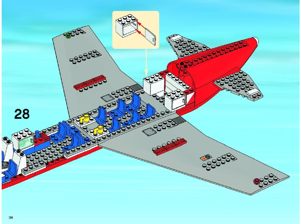 lego airport 3182 instructions