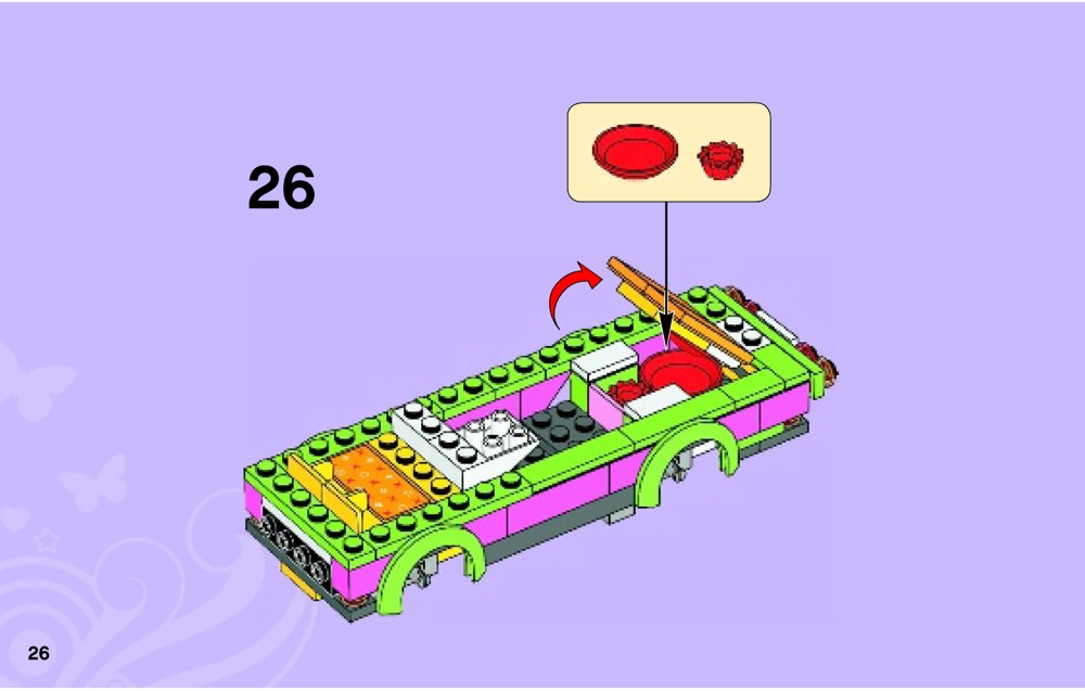 lego friends camper instructions 41034