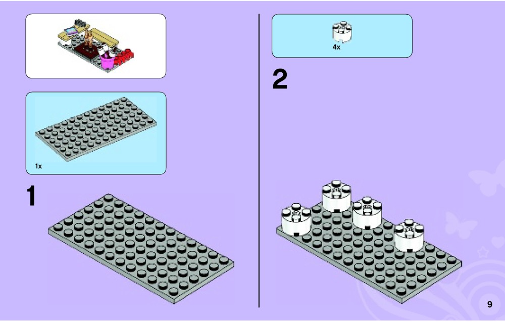 lego friends summer riding camp instructions