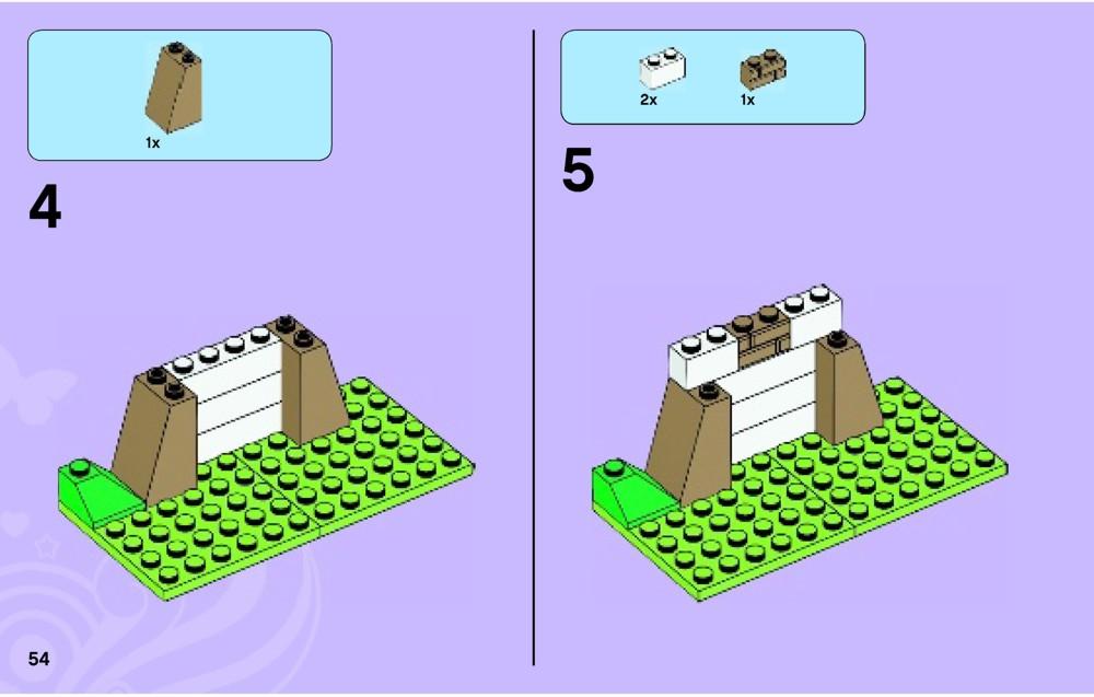Lego Friends Emmas Horse Trailer 3186 Instructions Radio Disney