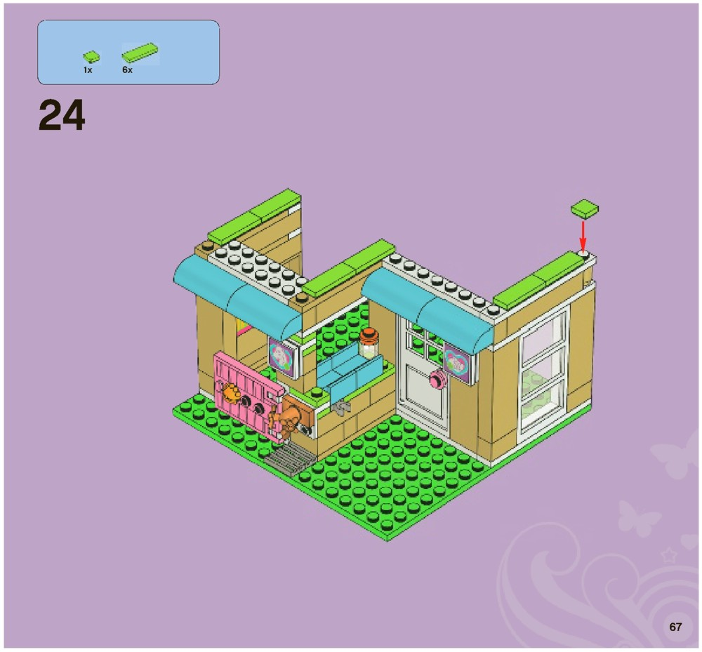 how to build lego friends vet