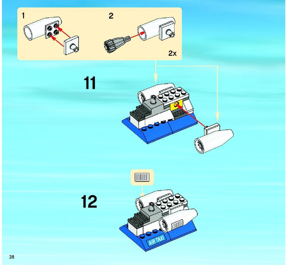 lego city helicopter instructions