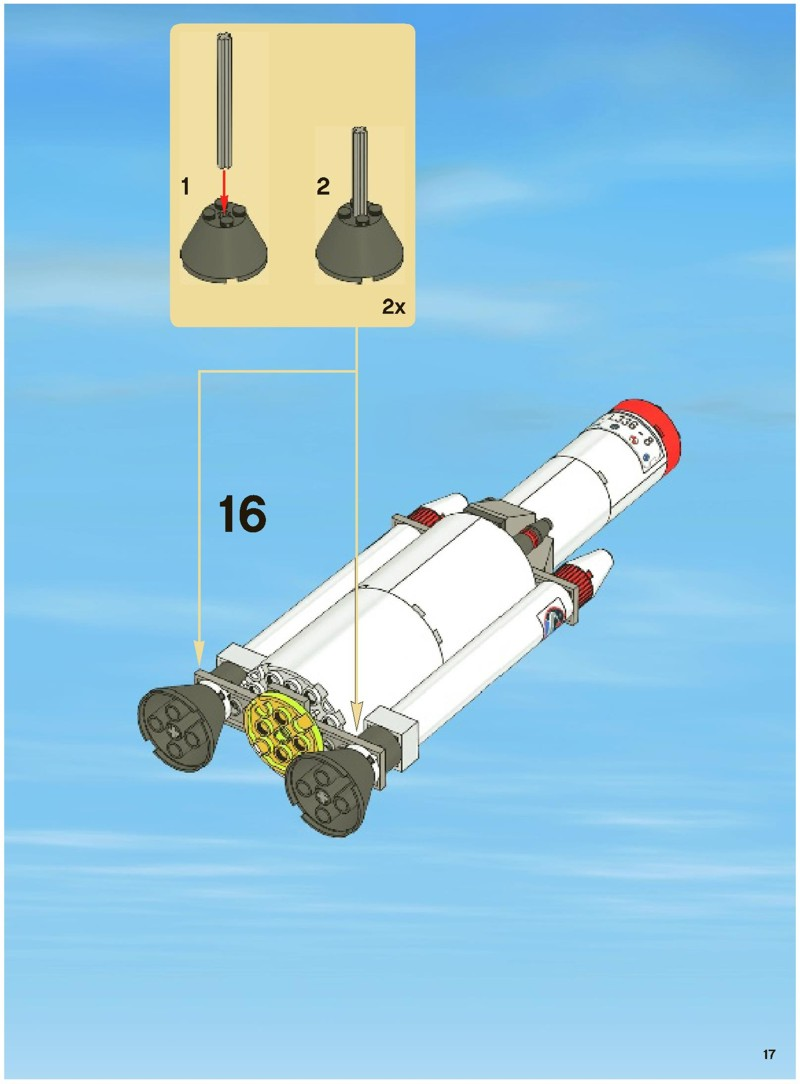 lego space center 3368 instructions