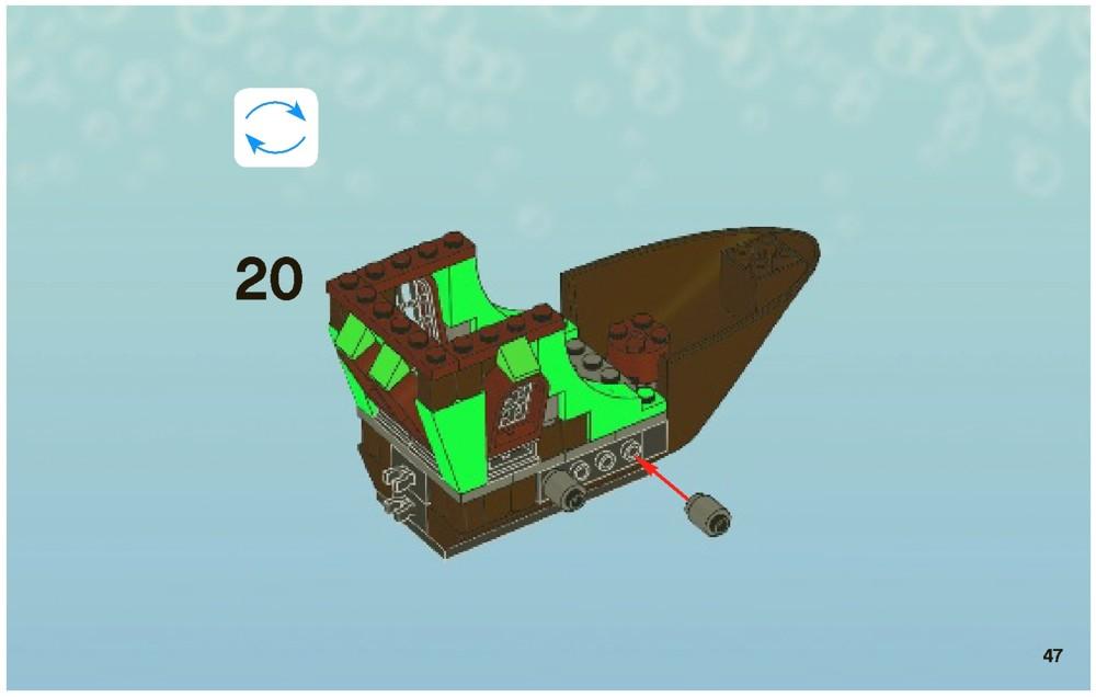 Lego Pirate Spongebob Squarepants 3817 The Flying Flying