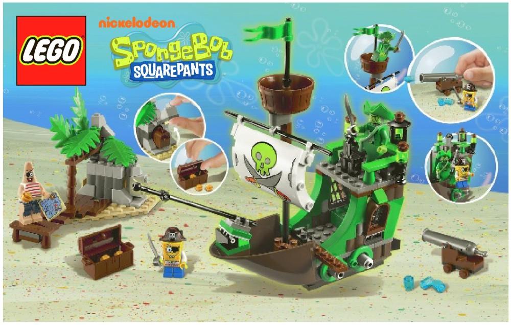Pictures Of Flying Dutchman Spongebob Lego Kidskunstfo