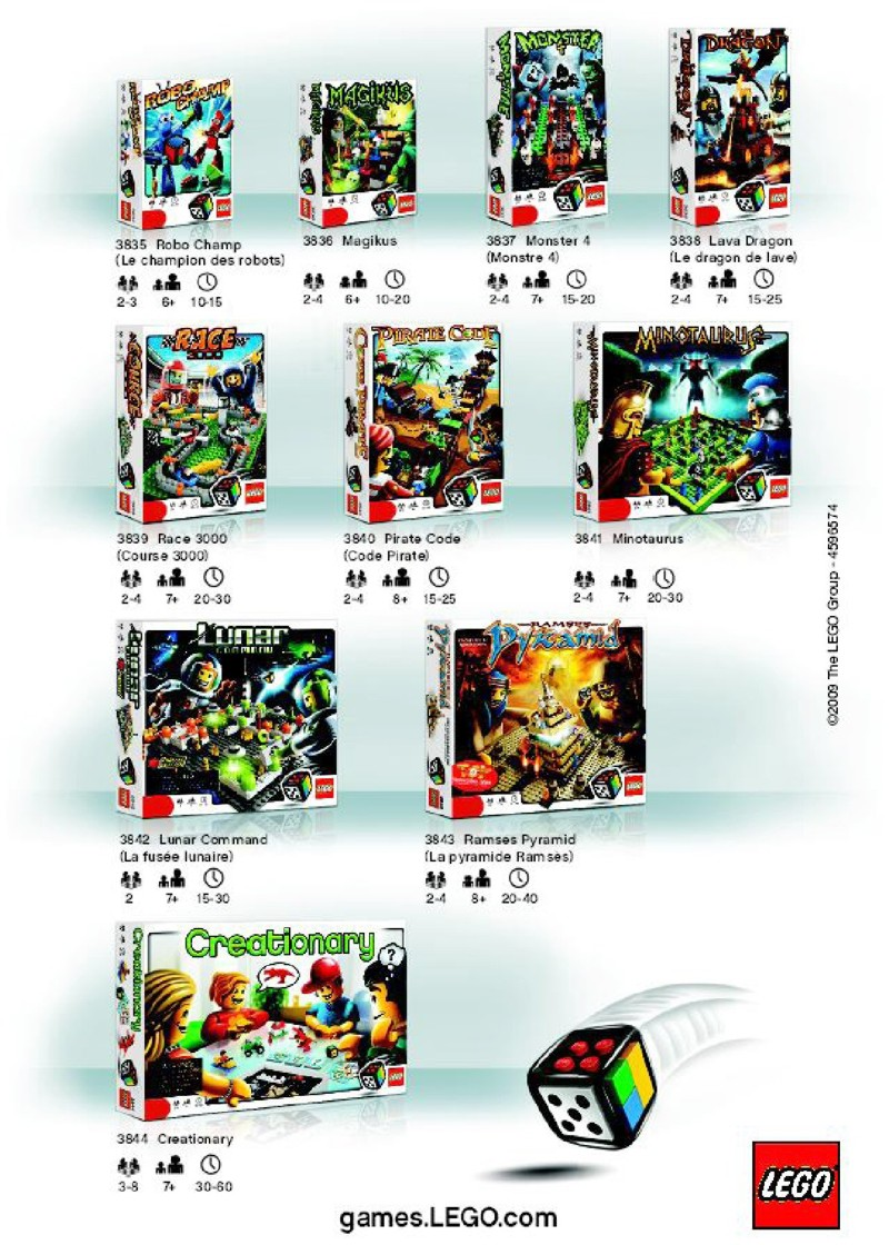 lego creationary instructions pdf