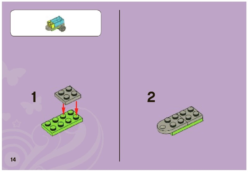 lego friends 3935 instructions