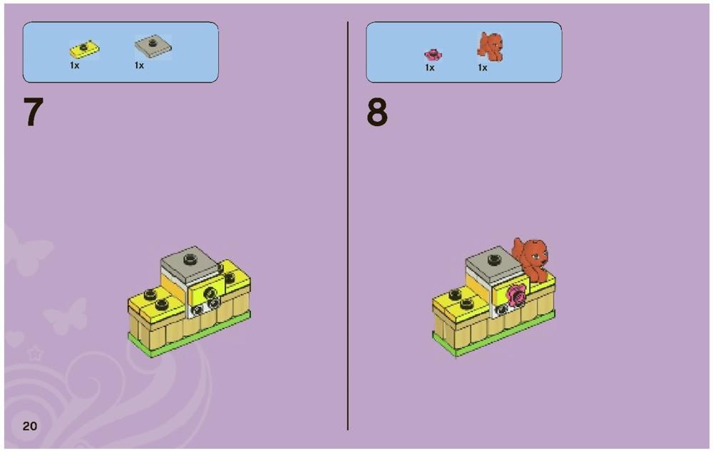 lego friends dog show instructions