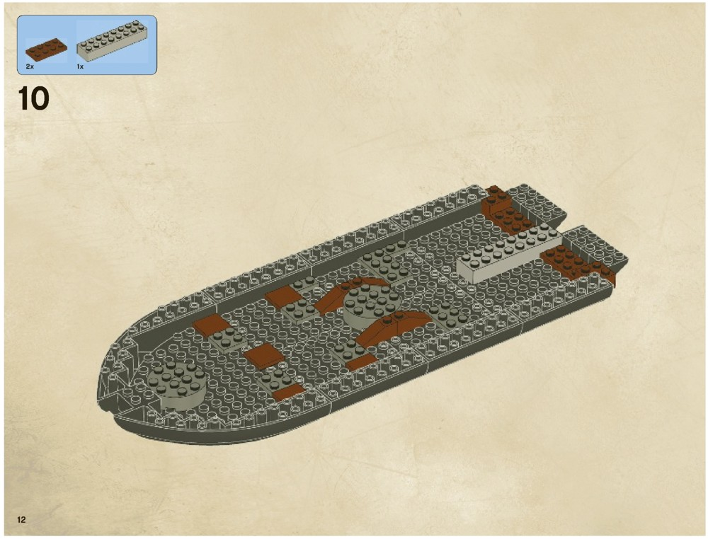 Lego The Black Pearl Instructions 4184 Pirates Of The