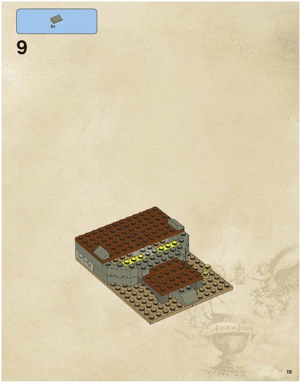 lego pirates of the caribbean whitecap bay instructions