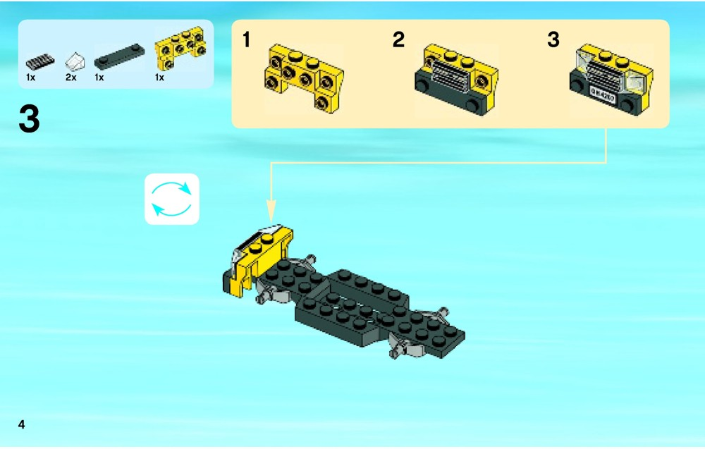 lego city garage instructions