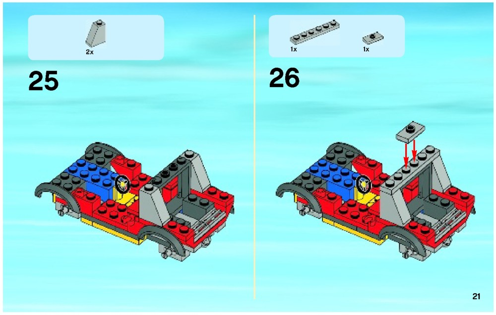 Lego Fire City Instructions