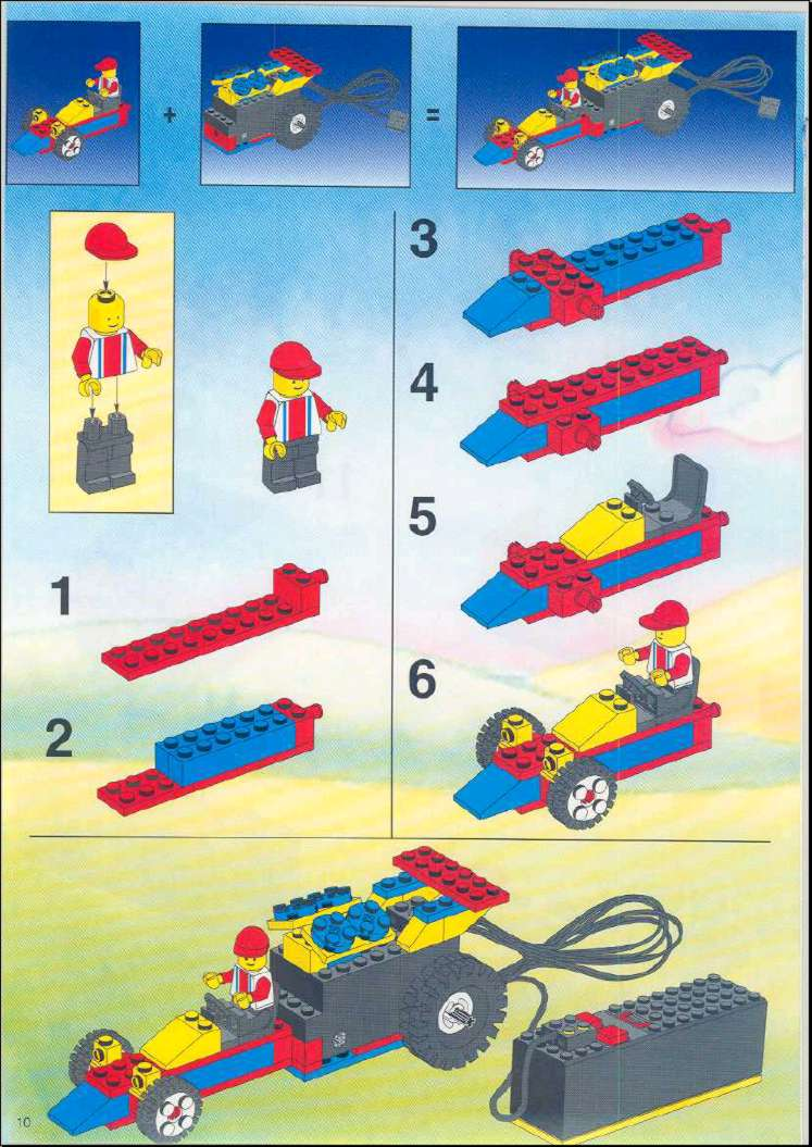 Lego Directions For Building