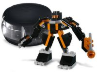 Lego Make and Create, Black Robot Pod