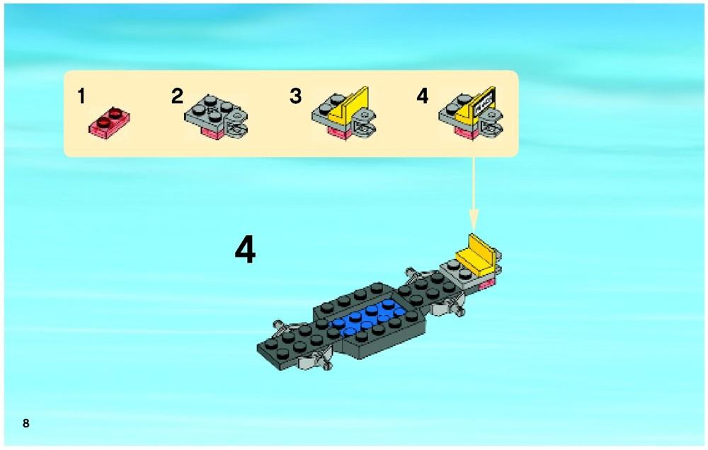 lego caravan 4435 instructions