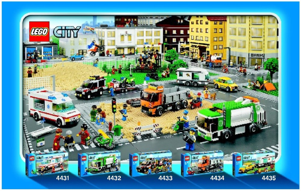 lego caravan 4435 instructions