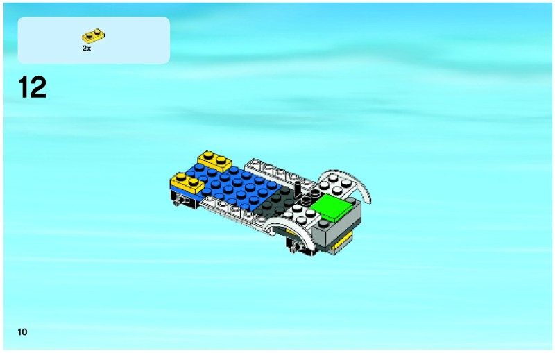 Lego City Forest Police Station Building Set