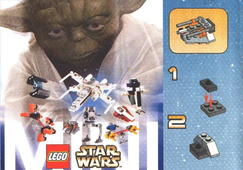Lego Mini At St Instructions 4486 Star Wars Mini