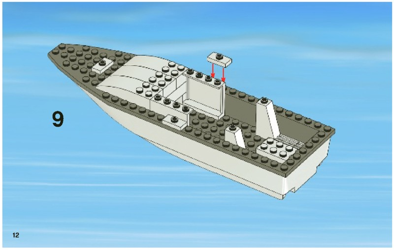 Fishing Boat Instructions For Lego Fishing Boat