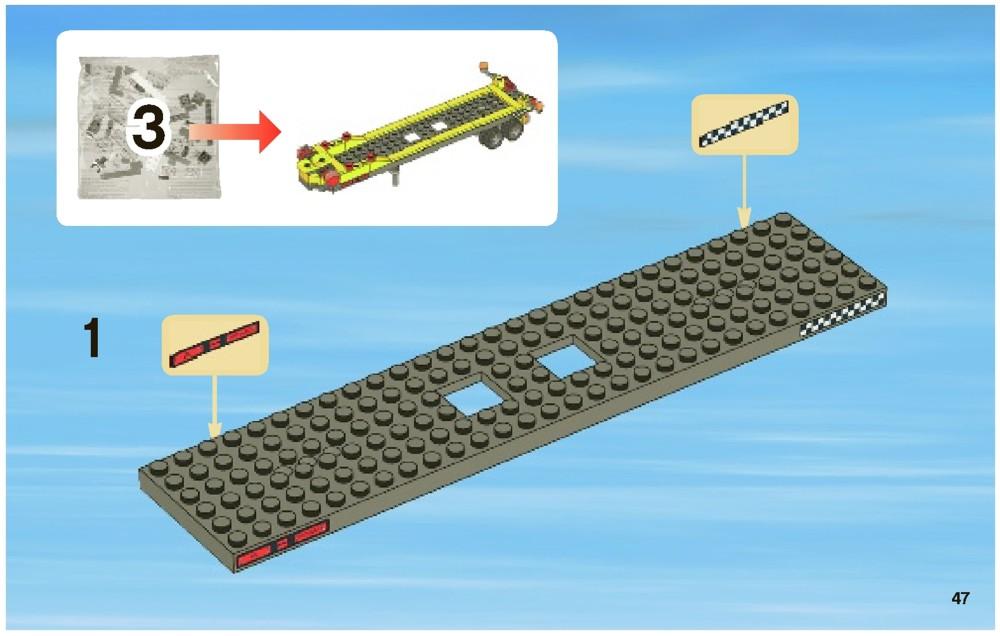 lego city boat instructions
