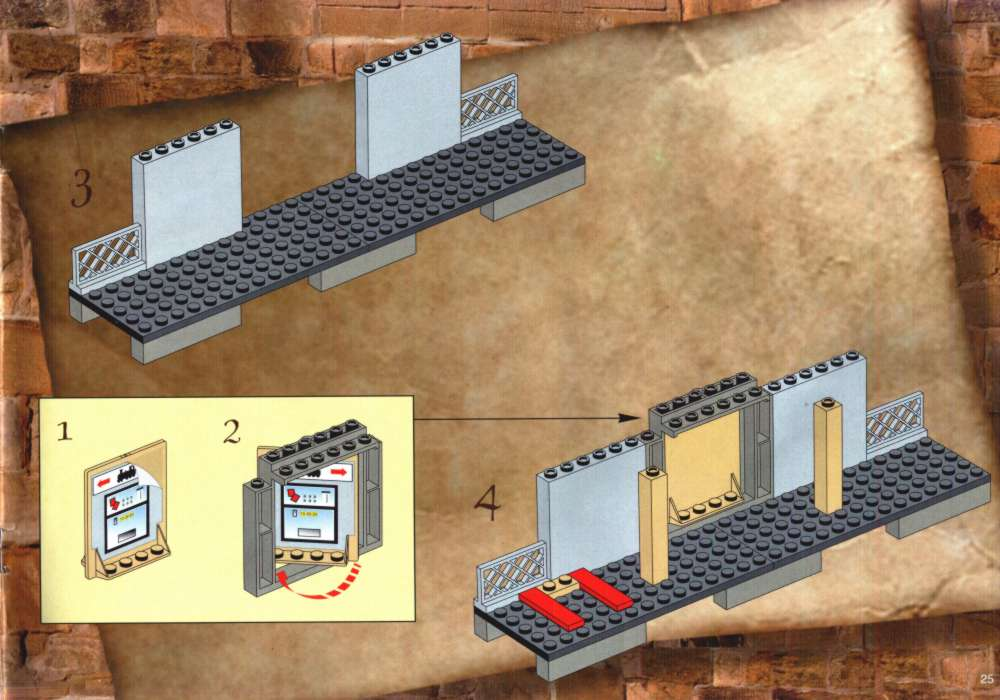lego hogwarts express 4708 instructions