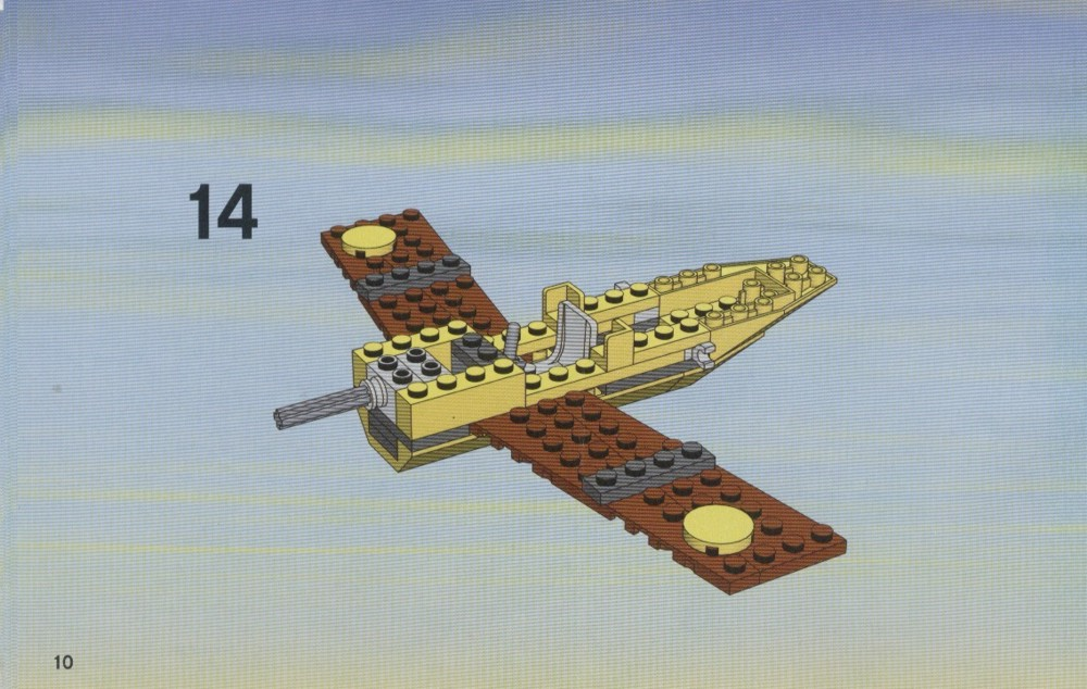 lego city plane instructions