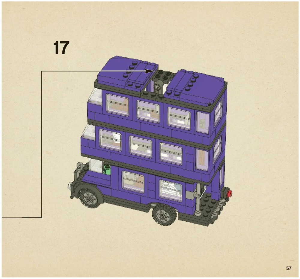 LEGO The Knight Bus Instructions