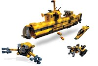 Lego Make and Create, Underwater Exploration