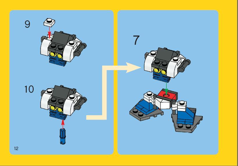 Роботы из лего своими руками схемы 15