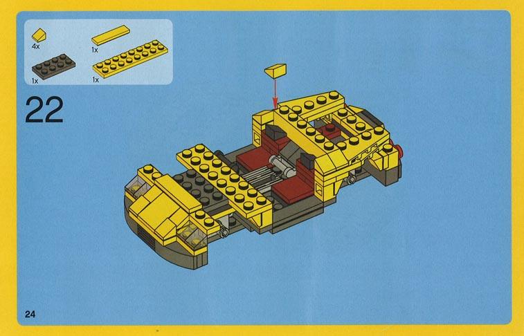 cool lego car instructions