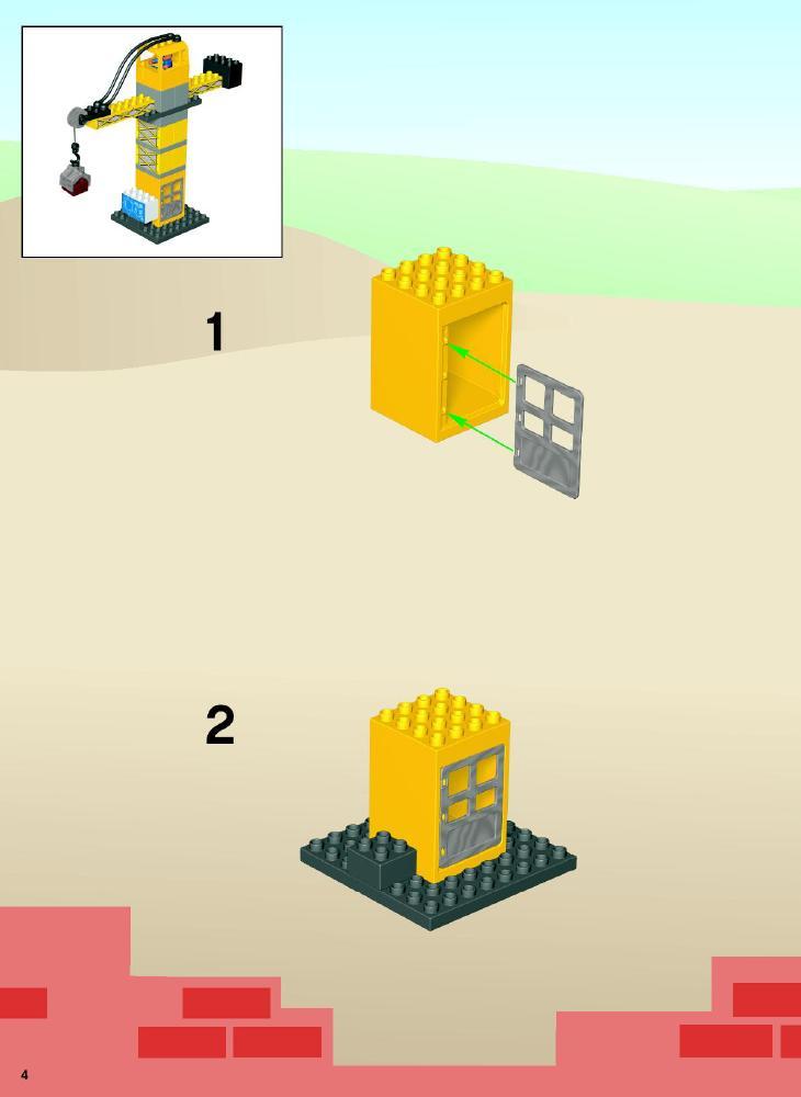 duplo construction set instructions