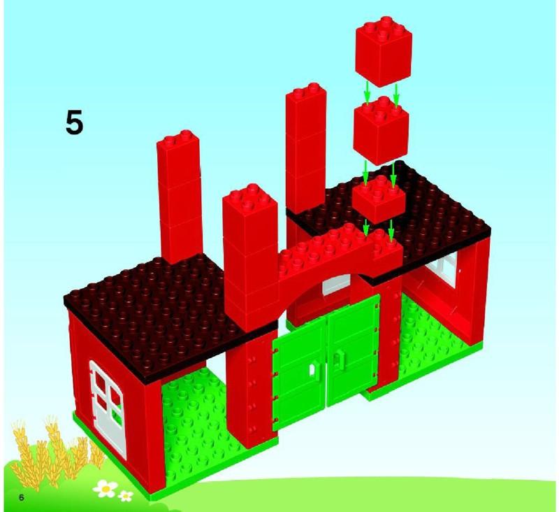 lego duplo 4977 building instructions