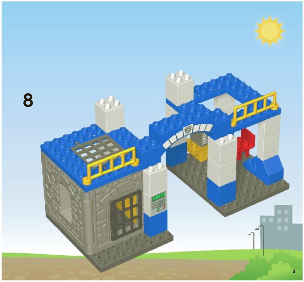 lego police station instructions