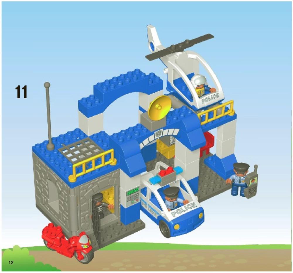LEGO Police Station Instructions 5681, Duplo