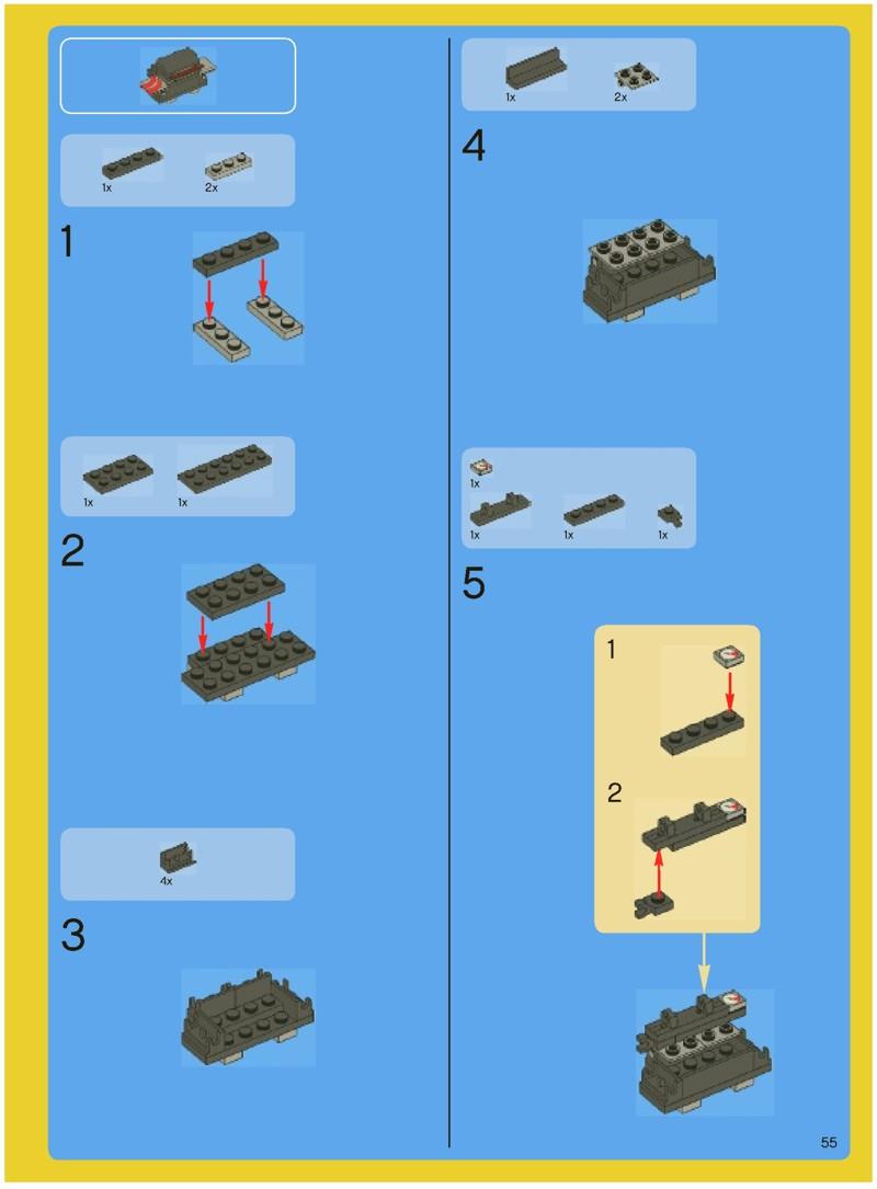 lego house instructions pdf