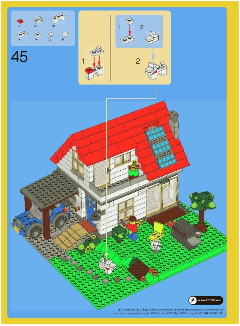 lego city house instructions