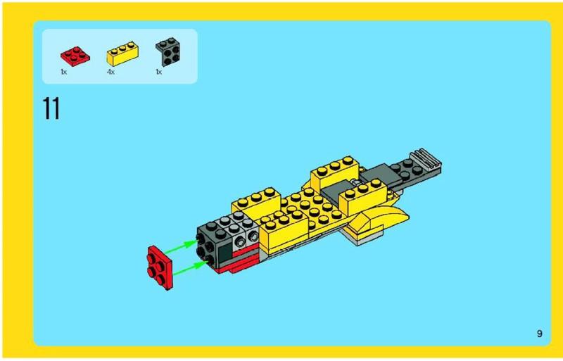 hero factory rotor instructions
