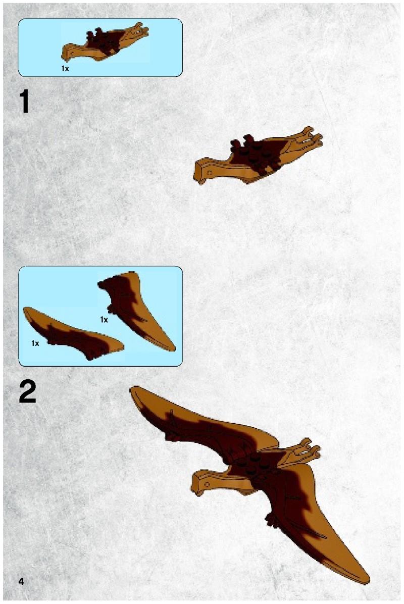 Lego Dino T Rex Hunter Instructions