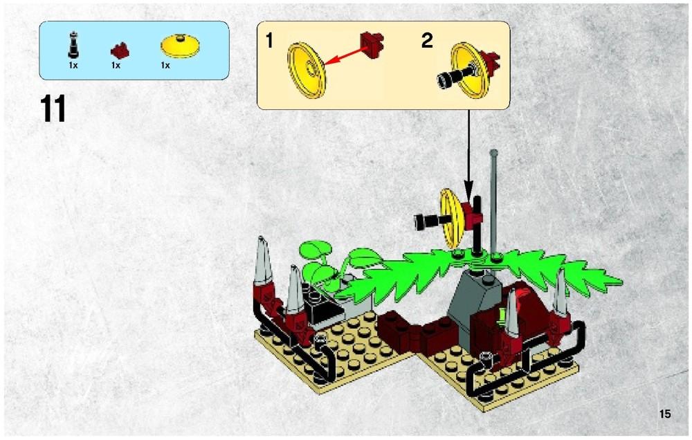 lego dino 2010 instructions