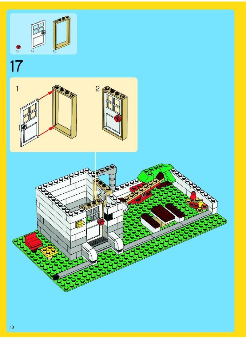 lego tree house instructions
