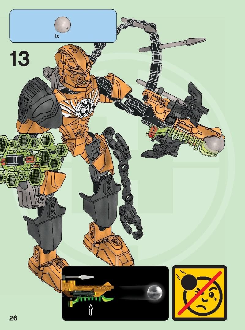 lego hero factory rocka instructions