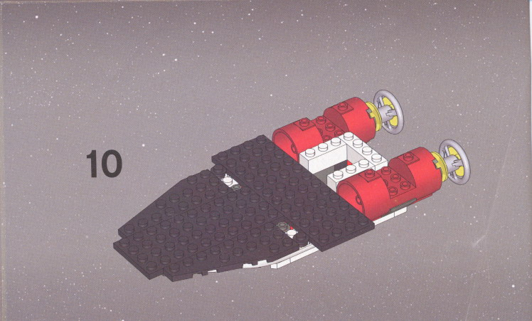 star wars a wing lego instructions
