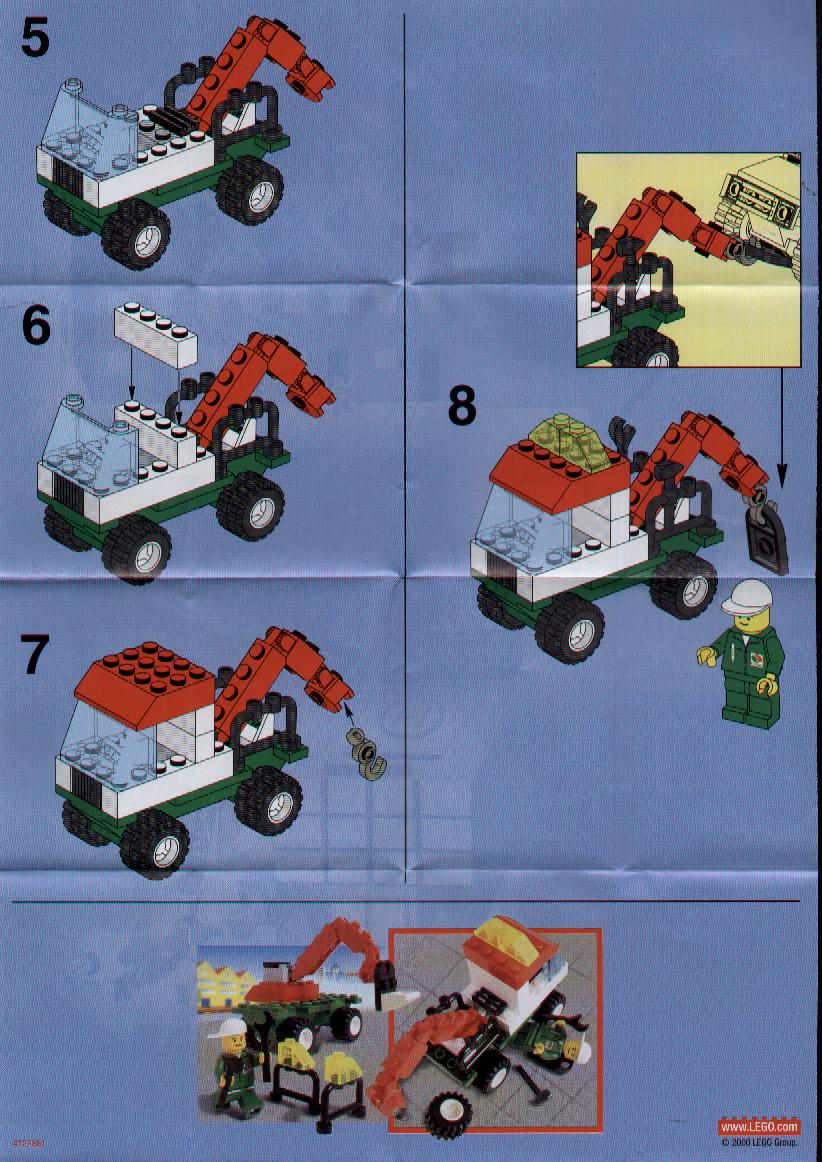 Lego Instructions Tow Truck