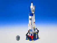 lego space rocket instructions